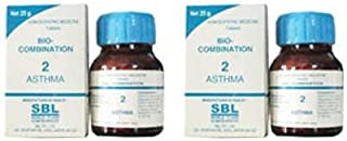 2 pack X SBL Homeopathy - Bio Combination Asthma 2 - -