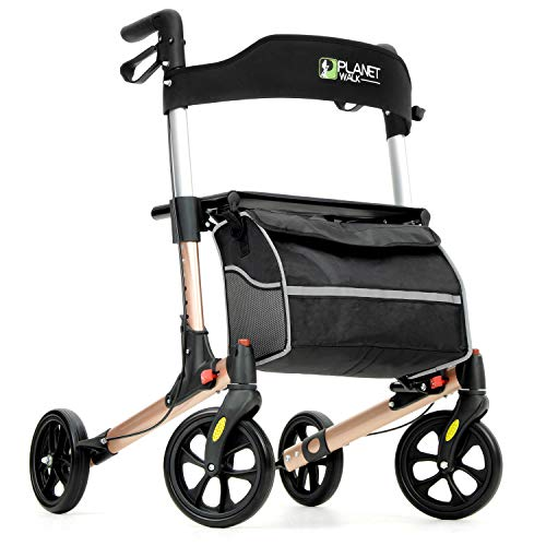 small Planetwalk Premium Rollers-Folding Rollers with Seats and Bags-Soft Wheels …