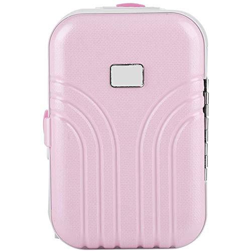 Case model music box meisje Leuk Roze koffer model Mini music box sieraden geval geschenk kinderspeelgoed,Pink