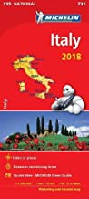 Italy 2018 National Map 735 2018 (Michelin National Maps)