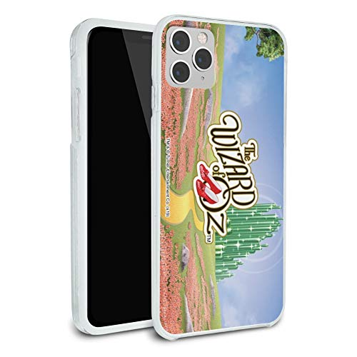 The Wizard of Oz Ruby Slippers Logo Protective Slim Fit Hybrid Rubber Bumper Case Fits Apple iPhone 8, 8 Plus, X, 11, 11 Pro,11 Pro Max