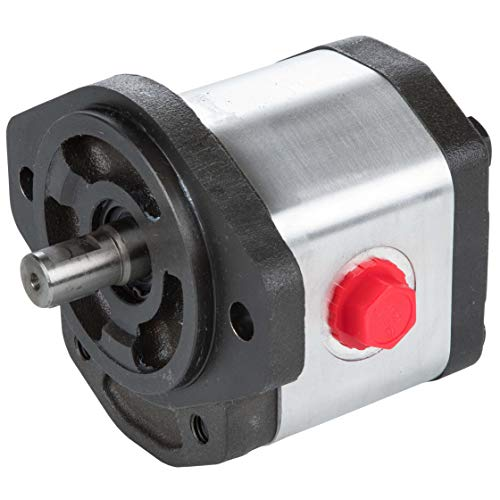 RuggedMade Hydraulic Gear Pump, 11 GPM Single Stage, Clockwise Rotation, 3600 PSI