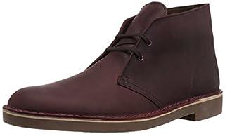 Clarks Men's Bushacre 2 Chukka Boot, Wine Leather, 10.5 M US (B078HR596T) | Amazon price tracker / tracking, Amazon price history charts, Amazon price watches, Amazon price drop alerts