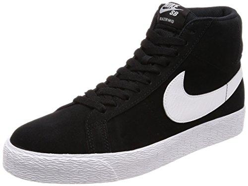 Nike Unisex-Erwachsene Sb Zoom Blazer Mid Fitnessschuhe, Schwarz (Black/White/White/White 002), 43 EU