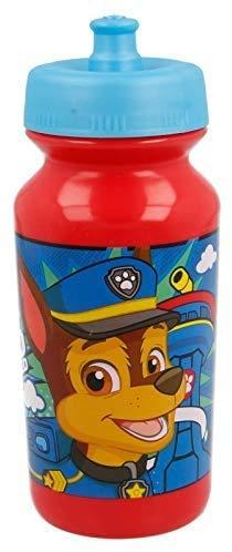 3164; Botella sport pus-up Patrulla canina; paw patrol; capacidad 340 ml; producto de plástico reutilizable; libre BPA.