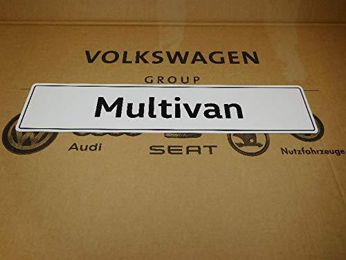 VW Original Ersatzteile Multivan Kennzeichen (Selbstleuchtend) - 7E5071801A