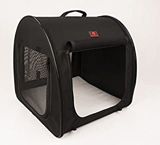 One for Pets Fabric Portable Pet Kennel/Shelter, Single, Black 20