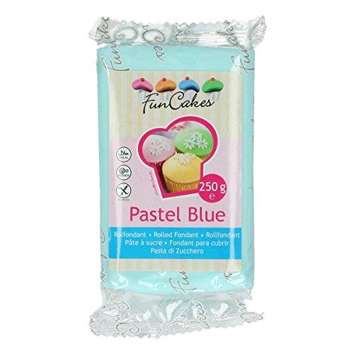 FunCakes Fondant -Pastel Blue- -250g-