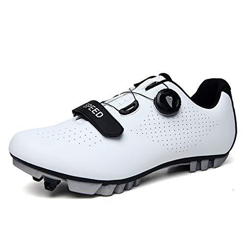 Prodkfe Chaussure VTT Homme Chaussures de Cyclisme Chaussure Velo Route Chaussures de Vélo de Sport de Plein Air Respirantes