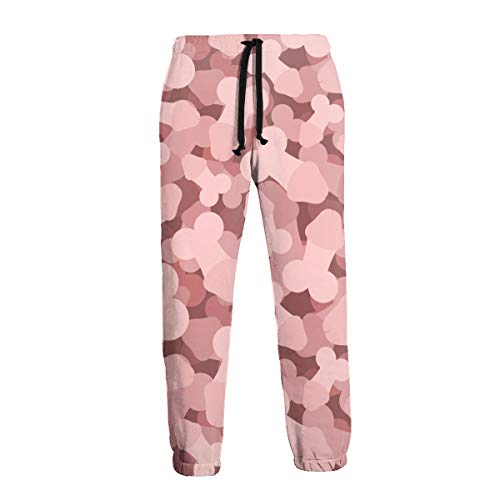 Shiney Day I Love Penis Men's Casual Jogger Sweatpants Training Fleece Pants Trousers with Pockets-XL