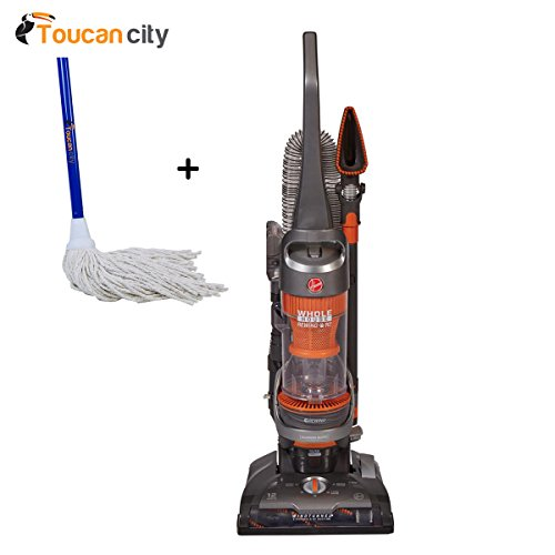 Sale!! Hoover WindTunnel 2 Whole House Rewind Pet Bagless Vacuum Cleaner UH71255 and Toucan City Str...