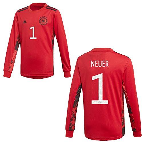 Sportiger DFB Deutschland Trikot Torwart Kinder Euro 2020 - Neuer 1, Größe:140