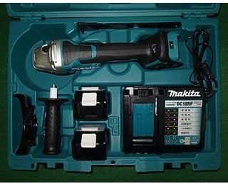 マキタ GA518DRGX 18V-125mm無線連動対応充電式ディスクグラインダ パドルスイッチ+ブレーキ付 6.0Ahバッテリ2個付セット