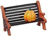 Department 56 Village Cross Product Accessories Halloween Haunted Pumpkin Bench Figurine, 1.5 Inch, Multicolor