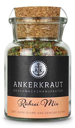 Ankerkraut Rührei Gewürz, für Omelette und Rührei, auch für Veganer und Vegetarier, 80g im Korkenglas