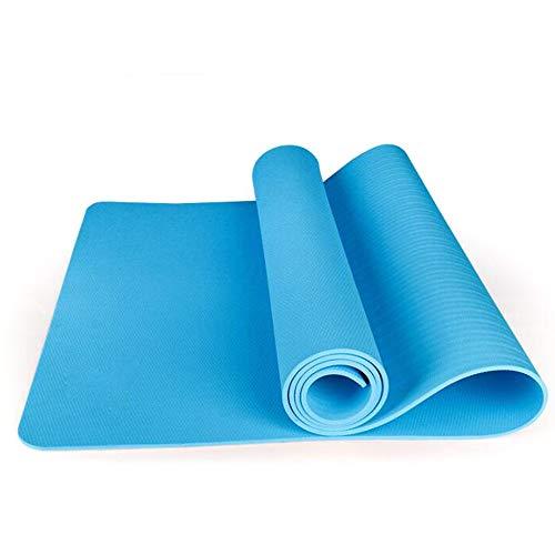 YUXIAOYU Fitness-Matte 10 Mm Yoga Pilates-Fitness-Training Umweltschutz TPE-Kautschuk Mit Hohen Dichte rutschfest Nachhaltige Weiches,B