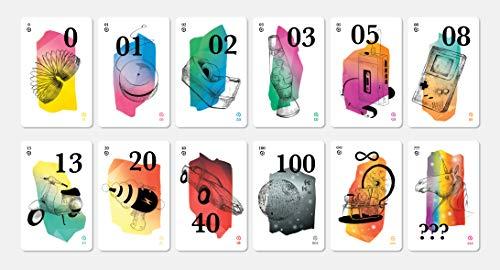 HelloAgile Planning Poker - Cartas de póquer para estimar equipos ágiles, por ejemplo, para equipos Scrum – 4 jugadores