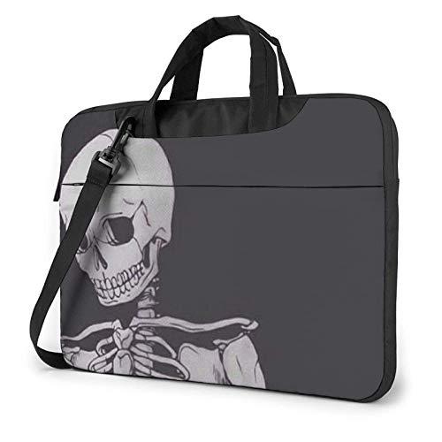 Skull Human Psd Laptop Sleeve 14 Inch Stylish Cute Neoprene Notebook Handbag