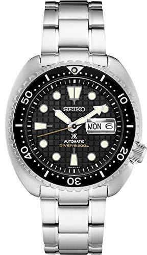Seiko SRPE03 Prospex Men's Watch Silver-Tone 45mm Stainless Steel