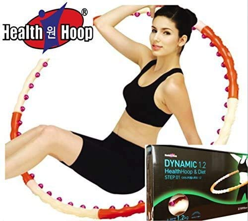 Health Hoop - Dynamic Magnetic Hula Hoop Workout Fitness Diet Exercise 2.6lb Step 1