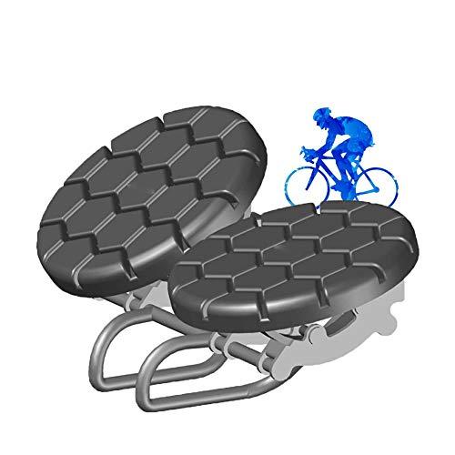 Tiyabdl Cómodo Sillín Bicicleta Mujer,Absorción de Choque Bike Cojín Ergonómico para Mountainbike Bicicleta Esencial