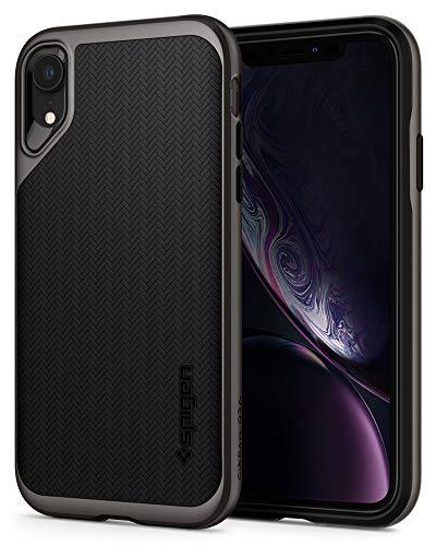 Spigen Funda Neo Hybrid Compatible con iPhone XR - Bronce Gris