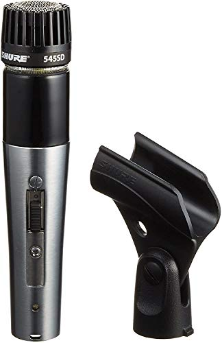 Shure 545SD-LC Cardioid Dynamic High or Low Z On-Off Switch