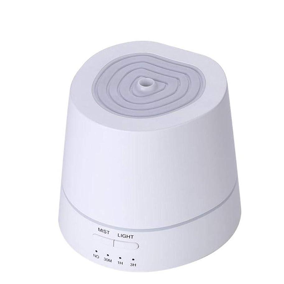 内陸バンカーボランティアアロマディフューザー 卓上加湿器 超音波式 150ml 小容量 USB充電式 7色LEDライト付き 間接照明 時間設定機能 部屋、会社、ヨガなど場所適用 Styleshow