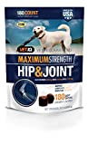 VETIQ Maximum Strength Hip and Joint Supplement for Dogs, Chicken...