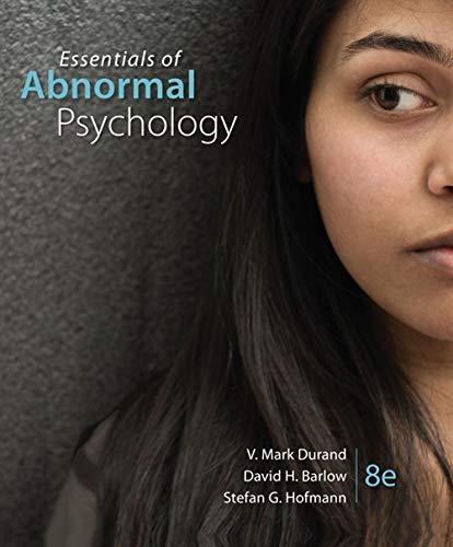 『Essentials of Abnormal Psychology』のトップ画像