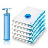 Bolsa de almacenamiento de vacío para el hogar, tejido transparente, borde plegable, organizador de ropa, sello de compresión, bolsa de viaje, embalaje, 40 x 50 cm