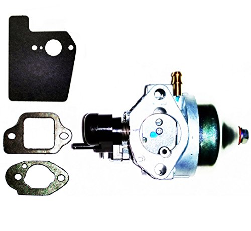 Honda Genuine OEM Harmony II HRR216 (HRR2168PKA) (HRR2168VKA) Walk-Behind Lawn Mower Engines Carburetor Assembly & MOUNTING GASKETS KIT (Engine Serial Numbers GJAPA-1677022 and up)