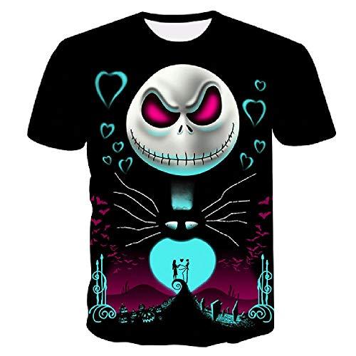 2020Summer Herren T-Shirt Motorrad T-Shirt Punk Kleidung Retro Kleidung Mechanische T-Shirt Tops Tees Männer Lustig 3D T-Shirt Gr. 58, Tx256