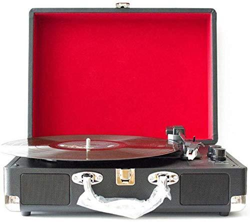 Why Choose QAZWSXE Retro Record Player, Gramophone Bluetooth Speaker Portable Multi-Functional Phono...