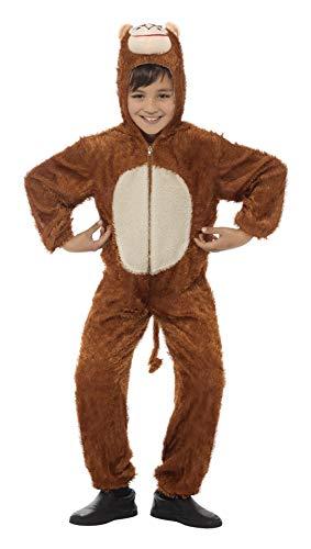 Smiffys 30800- Disfraz de mono para niño, talla 4-6 años