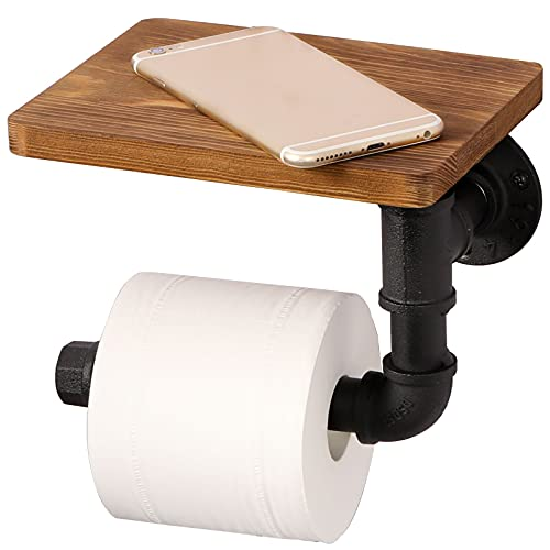 Top 10 best selling list for wood and pipe toilet paper holder