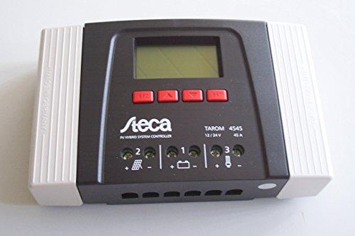 Steca Laderegler Tarom 4545 12/24V von bau-tech Solarenergie GmbH