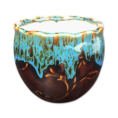 Outflower Contraste Couleur Design Tendance Creative Multi-meat Pot de fleurs en céramique Pots