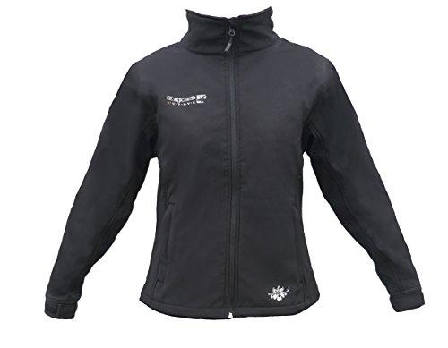 Deproc Active Damen Westlook Softshelljacke Jacke, Schwarz, 40.0
