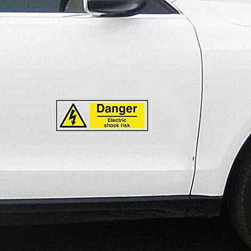 PELIGRO RIESGO DE DESCARGA ELÉCTRICA Para Auto Auto/Bumper/Window/Wall Decal Sticker Decals DIY...