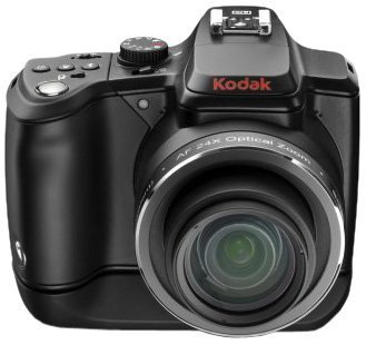 Kodak Easy Share Z980 Digitalkamera (12 Megapixel, 24-Fach Opt. Zoom, 7,6 cm (3 Zoll) Display, Bildstabilisator, HD-Video) schwarz