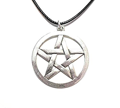 Dreamlife Halskette Pentragramm Farbe Antik-Silber