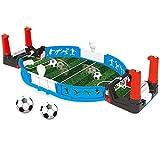 Besay Mini Tabletop Soccer Game Desktop Mini Football Tabletop Arcade Game Fun Kids Adults Table Soccer