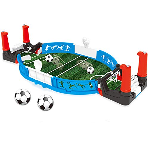 Hvoz Football Indoor Balls, Mini Tabletop Soccer Game Desktop Mini Football Tabletop Arcade Game Fun Kids Adults Table Soccer