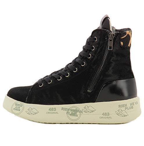 PREMIATA Black Sneaker Edith 4193 37