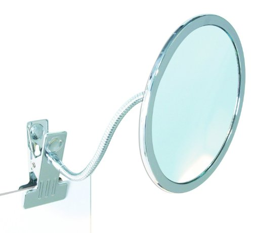 Enzo Rodi 411410 Klemm-Spiegel Iris / Ø 14.8 cm / chrom