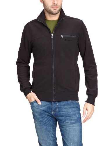 Champion Herren Full Zip Top, New Black, M, 205929