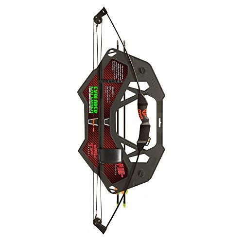 E-K Archery – Chameleon Riemenbogen-Set für Kinder 8/12 Jahre – beidhändig – Leistung 5/10 lbs