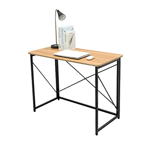 N/Z Daily Equipment Tables Desks Desk Folding Computer Desk Simple Home Writing Desk Bedroom Small Desk Student Desk