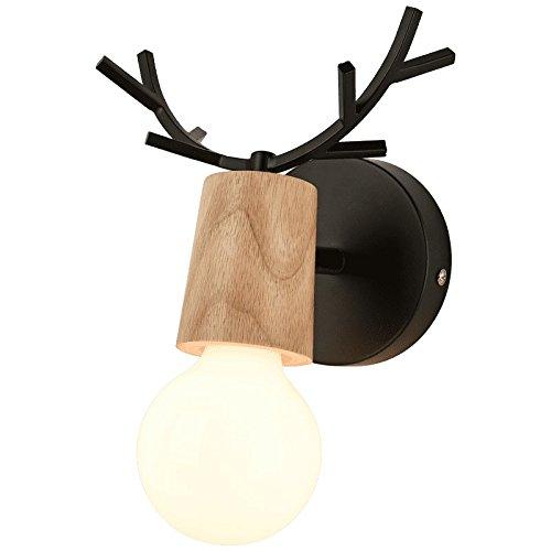 JJZHG wandlamp wandlamp creatieve nachtlampje trap gang gang gangpad kinderen kamer slaapkamer woonkamer muur lamp omvat: wandlampen, wandlamp met leeslamp, wandlamp met stekker